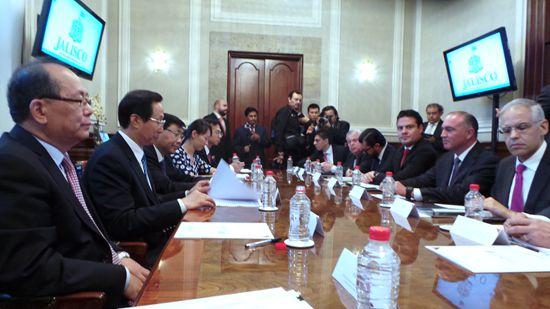 农业部长韩长赋访问墨西哥 签署农业合作备忘录