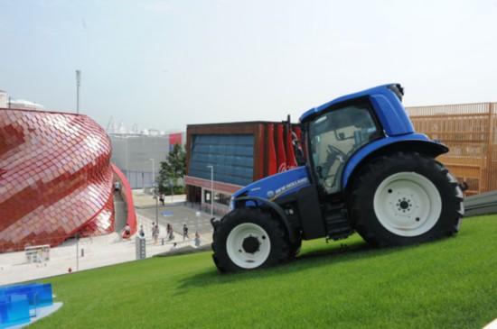 米兰世博会:沼气驱动拖拉机受关注