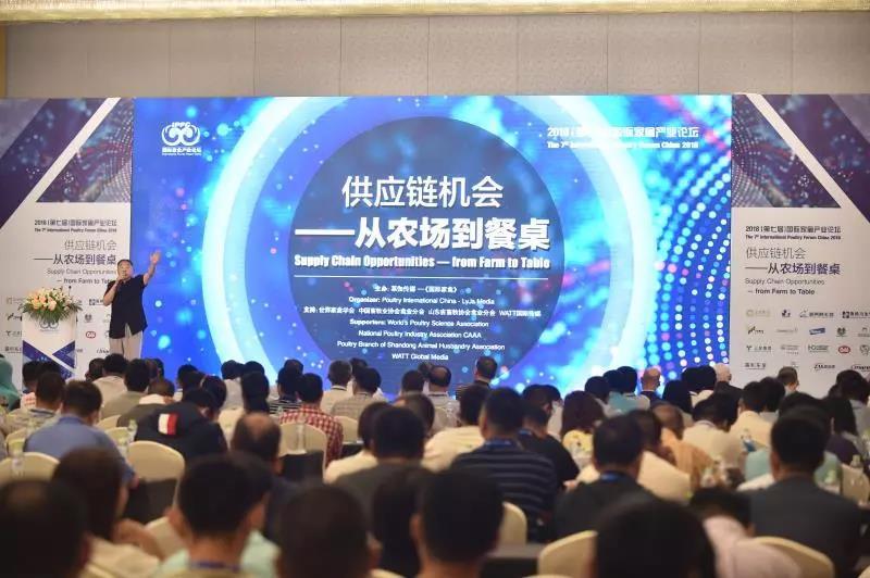 探求产业发展新动力 2018国际家禽产业论坛青岛开幕