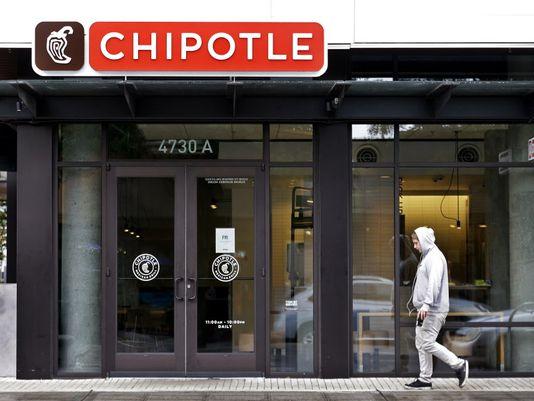 卫生官员曝美国650人在Chipotle就餐后生病真相