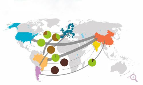 USDA报告偏空但贸易磋商或重启,国内豆粕行情下跌空间有多大?