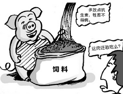 调研报告:中国猪工业饲料中抗生素添加成本最高