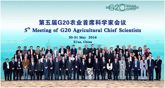 第五届G20农业首席科学家会议召开